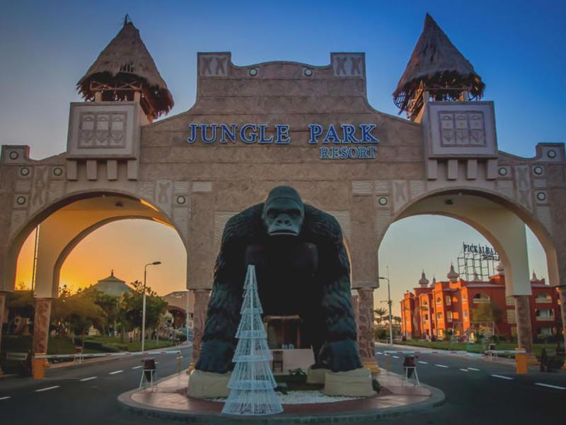 Das 4 5 Sterne Jungle Aqua Park In Hurghada Mit Berge Meer Buchen