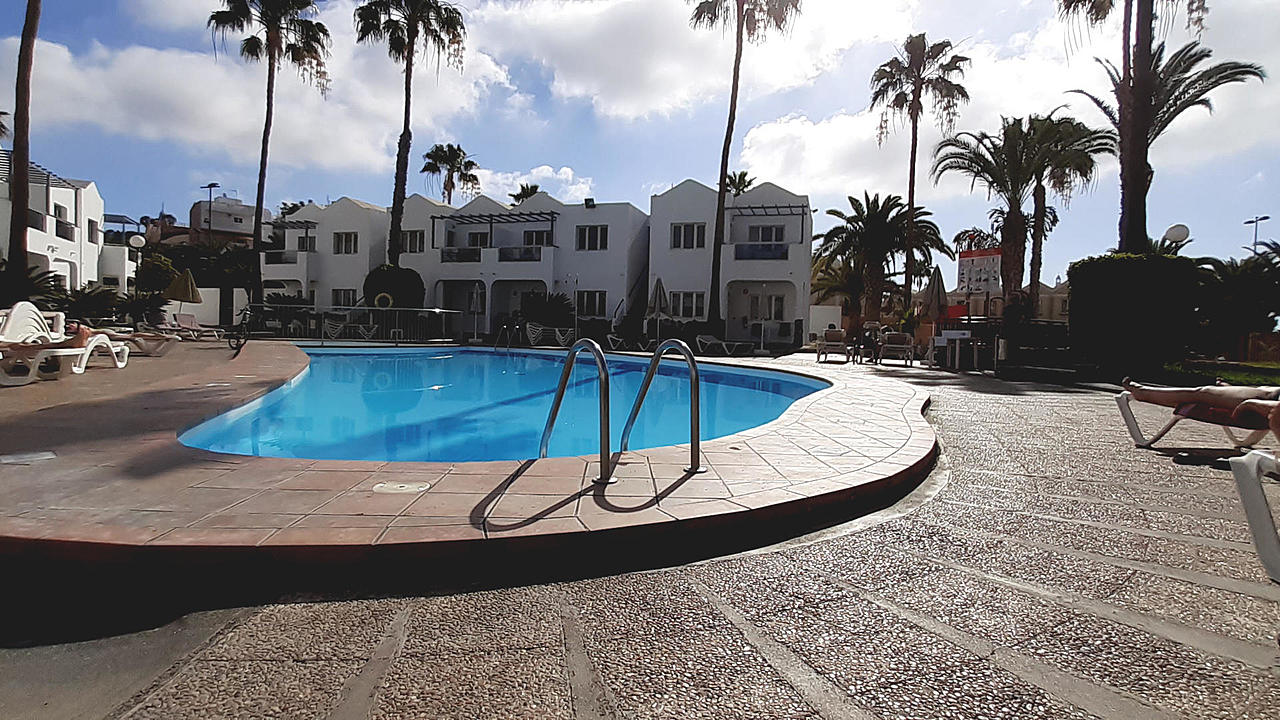Gran Canaria, Masopalomas. Appartementhotel Turbo Club
