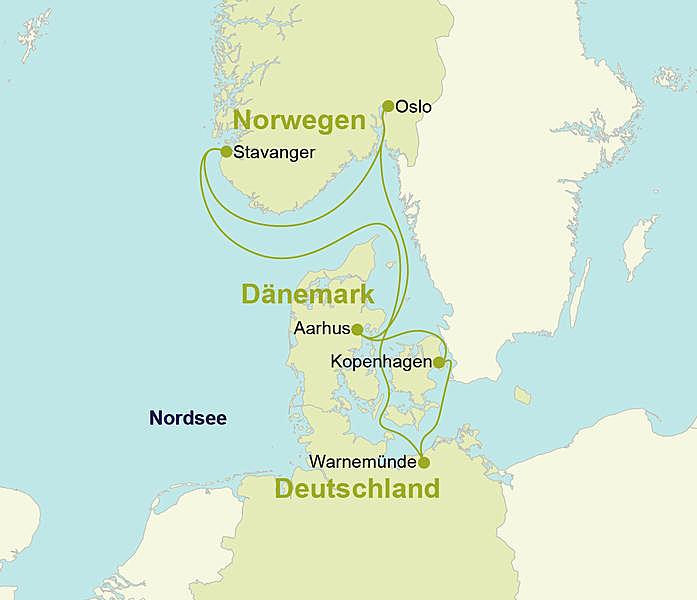 Nordsee Kreuzfahrt Aidadiva Ab An Warnemunde
