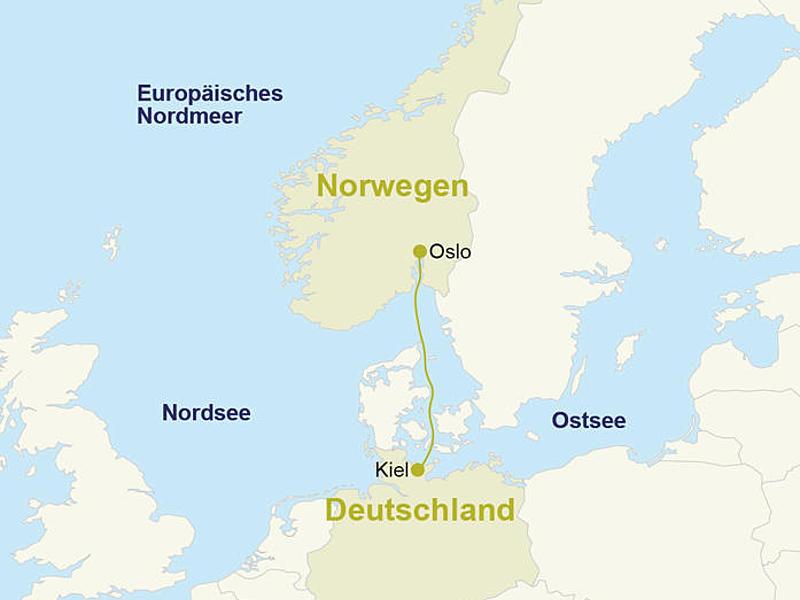 minikreuzfahrten kiel oslo