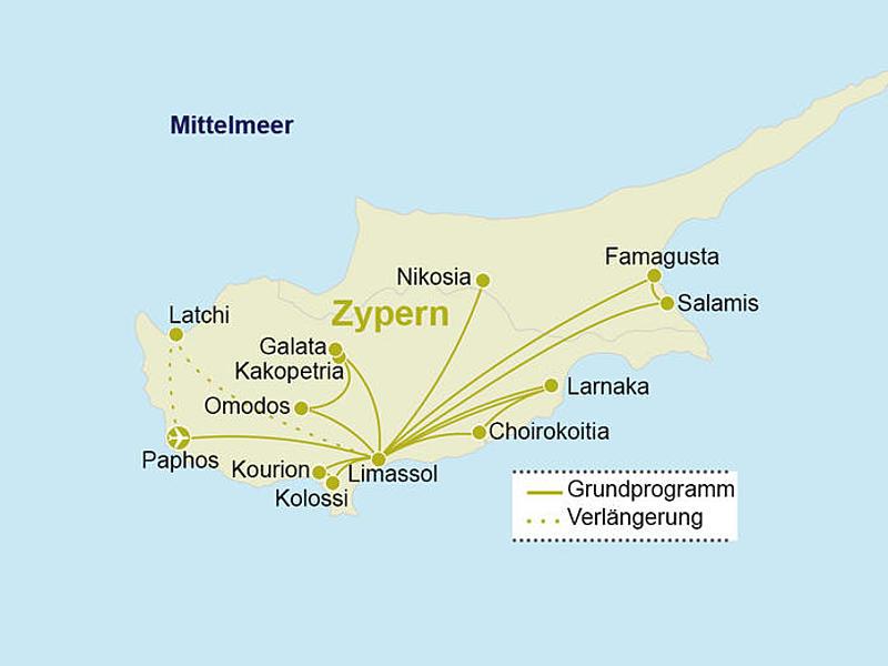 Zypern Kleingruppen Rundreise Im 4 Sterne Hotel