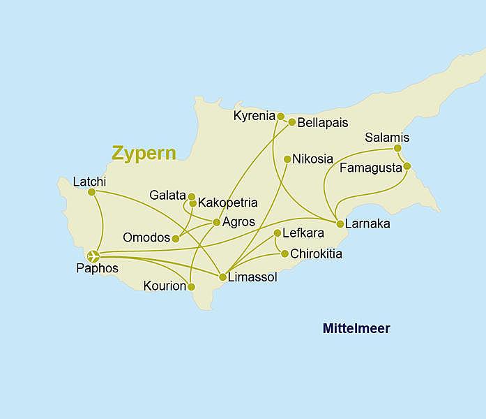 Zypern Rundreise Erholung Im Hotelschatz